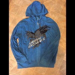 Men's Armani Exchange A/X Zip up hoody sweater